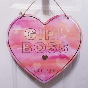 Girl Boss Wall decor